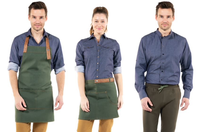 Restaurantkleding sets custom made