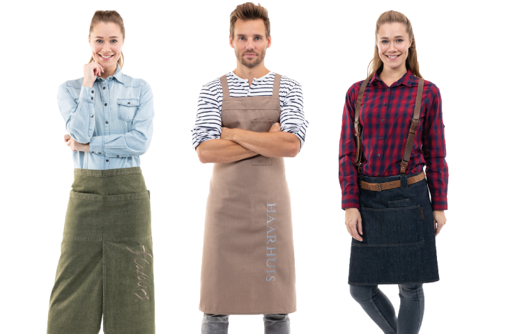 Barista kleding custom made