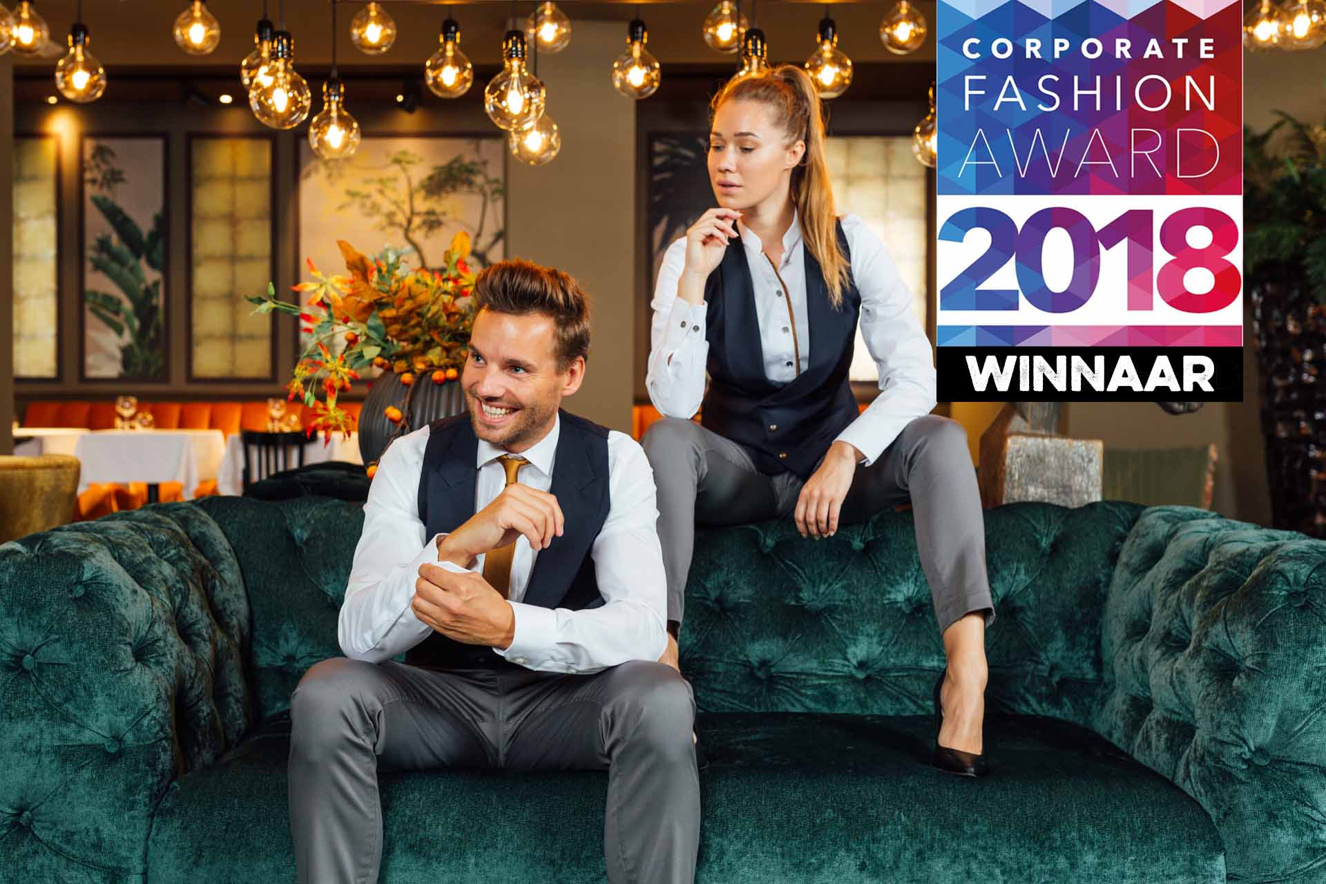 Corporate fashion award